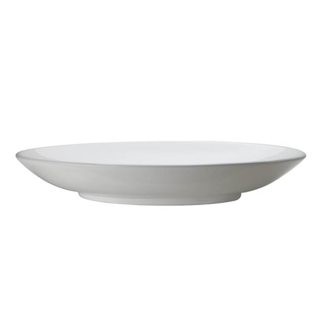 Decolav Above-Counter Oval Lavatory White
