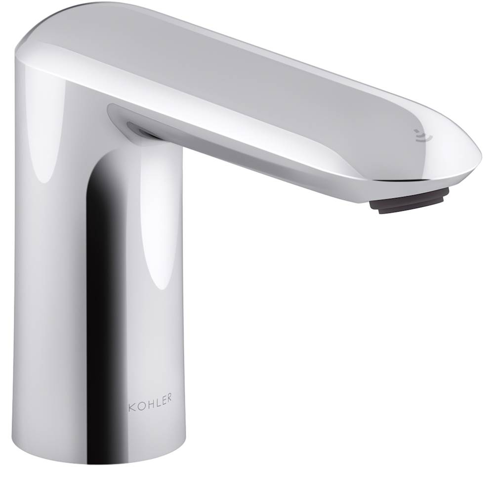 Kohler Kumin® Touchless faucet with Kinesis™ sensor technology, DC-powered