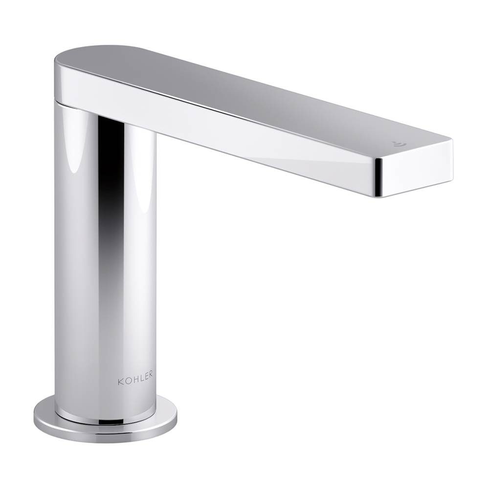 Kohler Composed® Touchless faucet with Kinesis™ sensor technology and temperature mixer, DC-powered