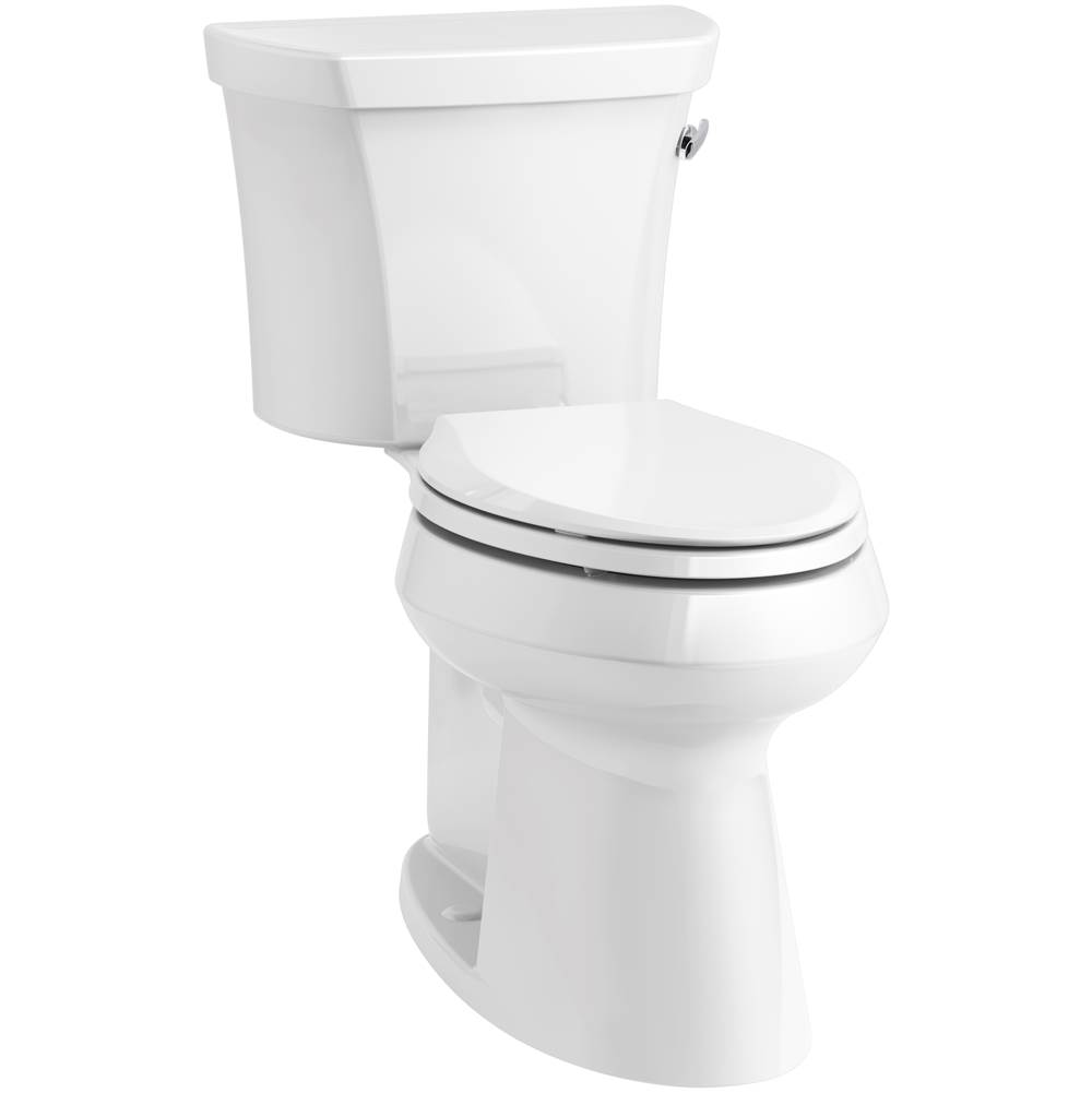 Kohler Highline® Comfort Height® Two-piece elongated 1.28 gpf chair height toilet with right-hand trip lever