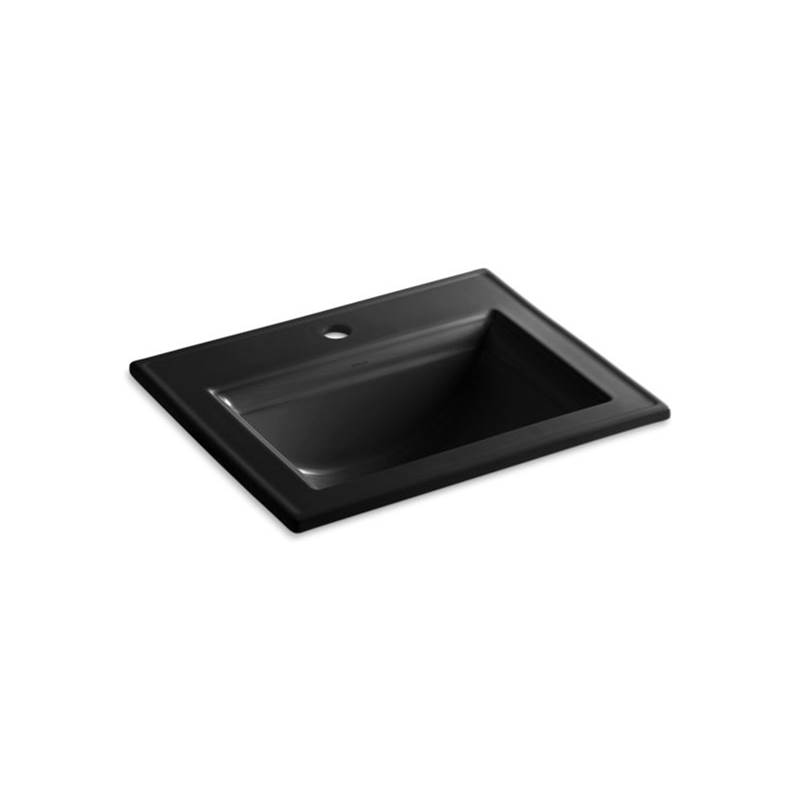 Kohler Memoirs® Stately Drop-in bathroom sink with single faucet hole