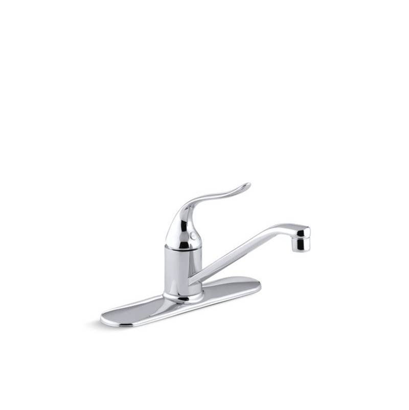 Kohler Coralais® Three-hole kitchen sink faucet with 8-1/2'' spout and lever handle