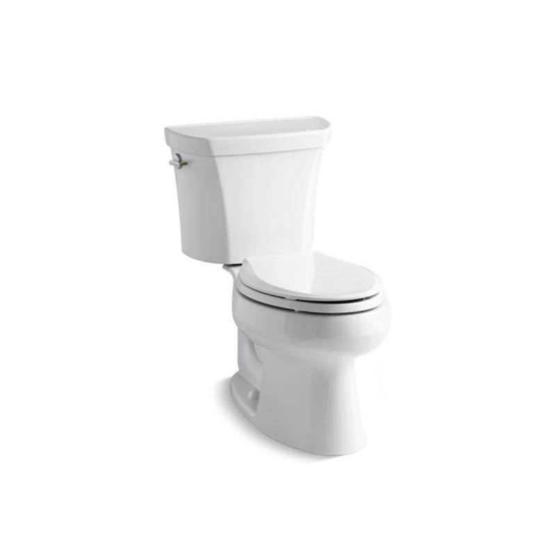 Kohler Wellworth® Two-piece elongated dual-flush toilet